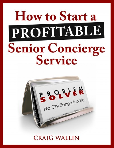 senior concierge service e-book