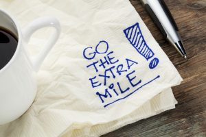 going the extra mile with your senior service business